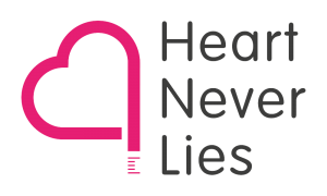 Logo Heart Never Lies