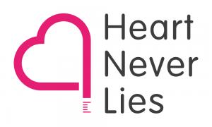 Logo Heart Never Lies